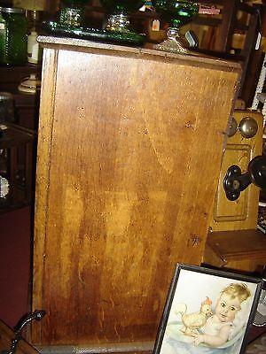 Large Antique Oak Cubbyholes                      8144 9