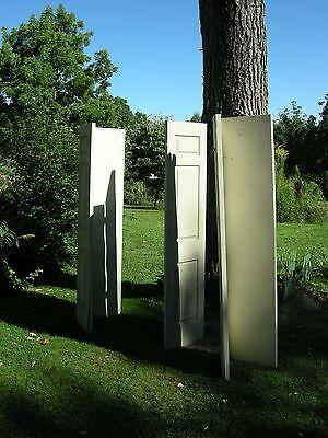 Set of 3 pair folding 3 Panel  INTERIOR Closet Doors 80 x 18, 6 doors total $150 2