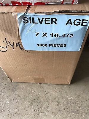 Silver Age Comic Book bags and boards 100 of each Ultra Pro / BCW 3