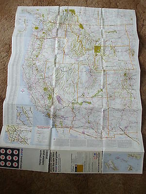 Vintage Mobil Central & Western United States Travel Map 3