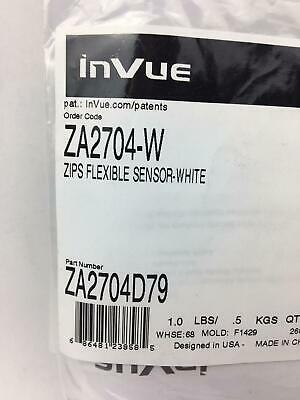 NEW AND SEALED! InVue AC124-B ZIPS PWR Flexible Sensor Black Lot of 2