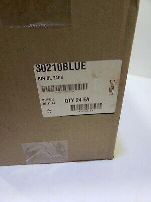 Akro-Mils AkroBin Stack & Hang Bin 5-3/8D x 4-1/8W x 3H Blue  24 pack 6