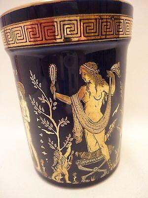Goddess Artemis Aphrodite & Adonis God Apollo Ancient Greek Art Pottery Vase Cup 2