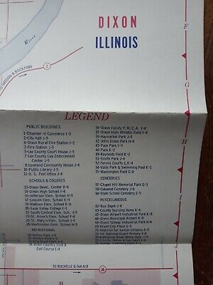 Map Of Dixon And Lee County Illinois  from Dixon State Bank 3