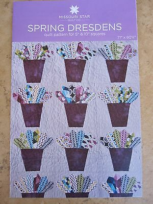 """Dresden Template /& Dresden Wreath Pattern for 5/"""" Squares Missouri Star Quilt Co"""