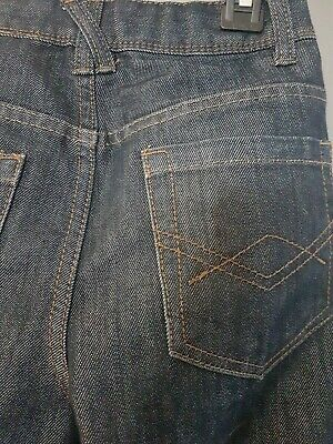 Age 10 Boys Dark Blue Slim Leg Jeans 3