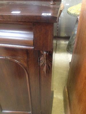 Good William IV Gothic Arch Rosewood Sideboard Buffet Chiffonier CabinetCupboard 5