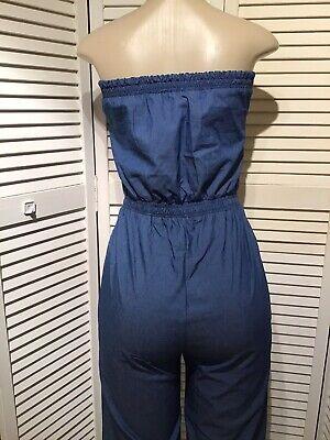 fashionmia jumpsuits Size M Blue-color 4