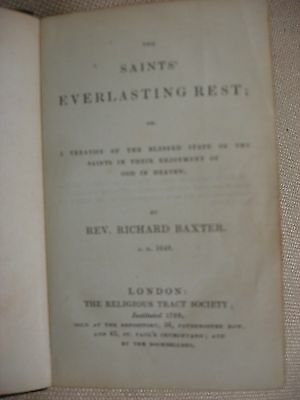 The Saints' Everlasting Rest bound by Benjamin West