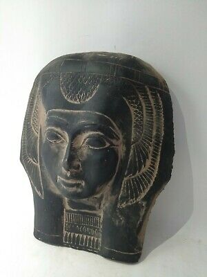 RARE ANCIENT EGYPTIAN ANTIQUE MASK QUEEN Tetisheri 1457-1390 BC 4