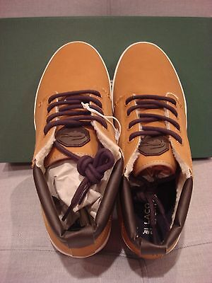 32c9ba981 ... Lacoste Men s Ampthill Terra Put Fleece Dark Tan Size 13 Shoes - Brand  New 11