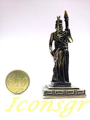 Ancient Greek Miniature Olympian God Pantheon Sculpture Statue Zamac Athena G 3
