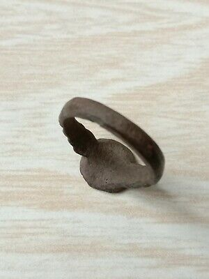 Bronze ring of the ancient Vikings. 5
