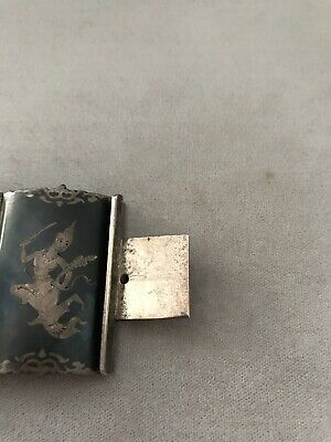 Siam Silver Antique Bracelet 8