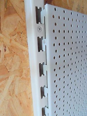 REGALE 4x LOCHWÄNDE 100 x 40cm WERKSTATT 1m TEGOMETALL SCHWARZ LOCHWAND TEGO f