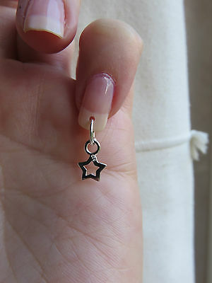 1 Of 2free Shipping Silver Star Nail Dangle Charm Body Jewellery