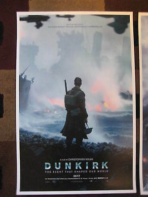 """Dunkirk ( 11"""" x 17"""" ) Movie Collector's Poster Prints ( Set of 3 ) 8"""