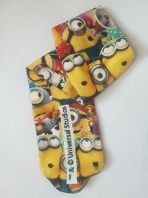 Boys,Girls,Childrens. Minion Despicable Me Socks - Three Pairs. 3