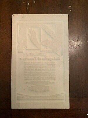circa 1934 Gruen Watches Jewelry Advertising Newspaper Flong Print Mat Mold 2