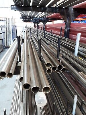 1MM WALL 316 SEAMLESS STAINLESS STEEL TUBE WESTERN EUROPEAN 10MM OD X 8MM ID