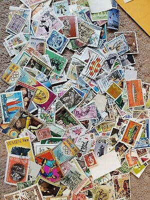 1000s DIFFERENT Mint/Used WORLDWIDE Stamps Collection Lot Pack of 100 - BONUS!!! 9