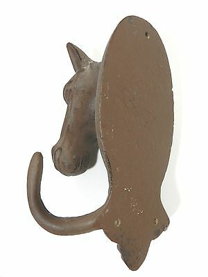 Horse Head Wall Hook Metal 6