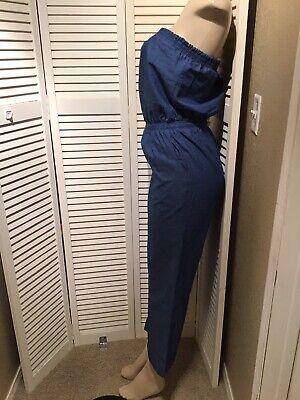fashionmia jumpsuits Size M Blue-color 2