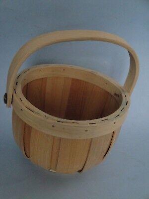 "Vintage Chinese 6.5"" sewing basket 4"