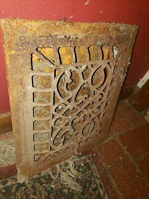 Antique grate Register 12x10 Victorian 3
