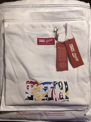 293868e9 KITH X COCA Cola Box Logo Tee - Multi - L *IN HAND* Kith Coke Cubed ...