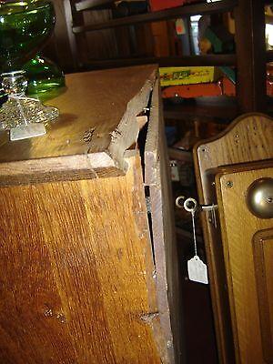 Large Antique Oak Cubbyholes                      8144 11