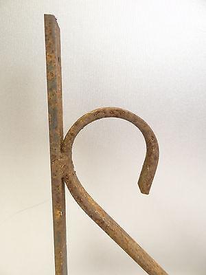 Vintage Steel Corner Bracket Plant Hanger Hook Decorative Architectural Hardware 3