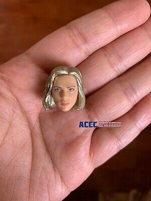 """1/12 Scarlett Johansson Head Sculpt Hands Set For 6"""" TBLeague T01 Female Doll 2"""