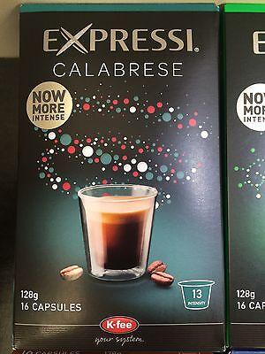 Expressi K-fee Coffee Machine Capsules Pods ALDI - 160 caps (10 boxes) u choose 2