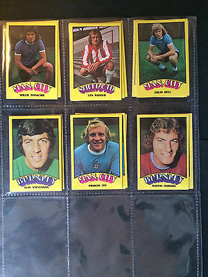 A&Bc 1974 Footballers Red Back (Very Good+ 91-132) *Pick The Cards You Need*** 10