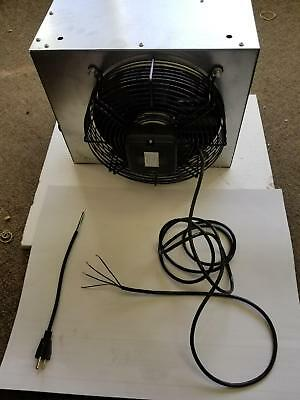 50k BTU Hot water hanging heater 2 SPEED BLOWER FAN WIRED WITH  CORD INCLUDED