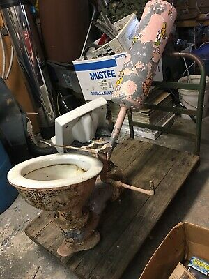 J.A. Vogel Antique Toilet early 1900's 2
