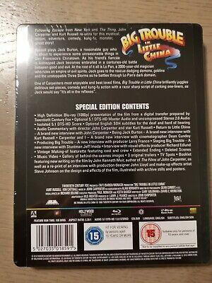 Grosso guaio Chinatown Steelbook Blu Ray Sigillata 2
