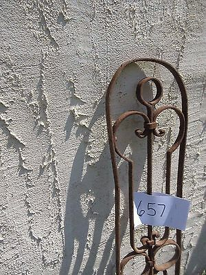 Antique Victorian Iron Gate Window Garden Fence Architectural Salvage Door #657 4