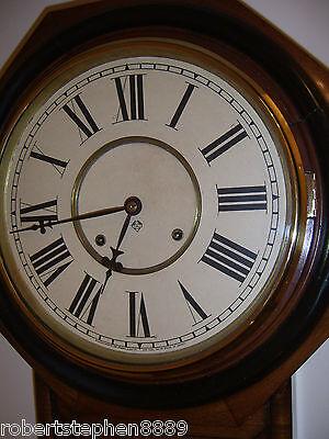 Ansonia 8 Day Wall Clock 2