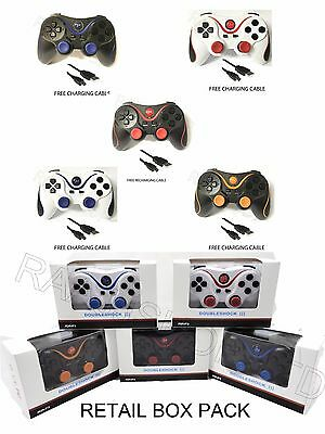 New Bluetooth Wireless Gamepad Controller Joystick Remote For Playstation 3 Ps3 6