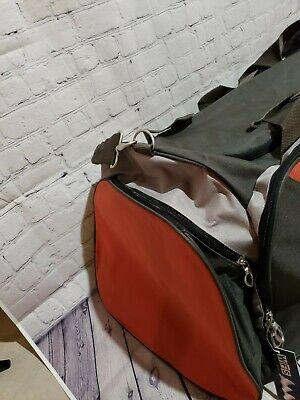 WFS Travel Bag Olive/Red Brick 5
