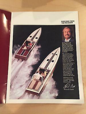 CHRIS CRAFT 1983 Sport Performance Boat (Stinger / Scorpion) Brochure /  Catalog