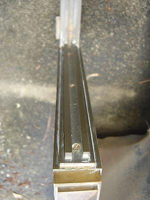 Antique Bronze Teller Window, or Divider or Sign Holder.8381 3