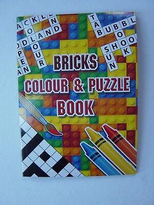 Party bag filler Crossword 12 Fun Puzzle Books weddings Wordsearch etc kids