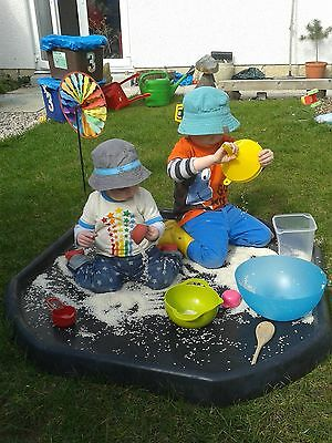 Large Plastic Children Kid Party Play Tuff Spot MIXING TRAY Toy Sand Pit Stand 7