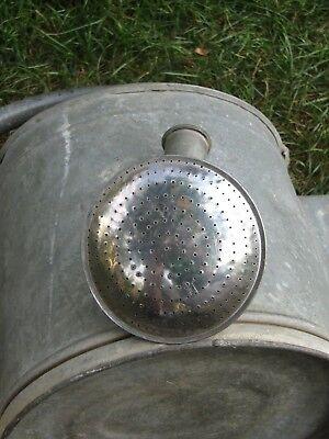 Gießkanne Giesskanne Gärtnerkanne (Blech verzinkt ; ca. 9-10 Liter) Watering Can 11
