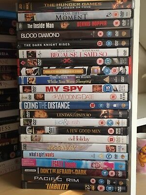 DVDs wholesale Joblot Carboot Collection genres Great titles 120- Random of 20 7