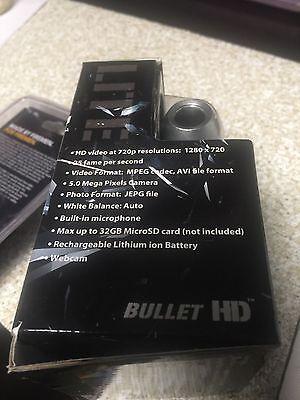 HD Fire Fighter Video BULLETHD Helmet Cam Camera Waterproof BlackJack 16GB SD 3