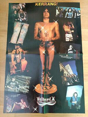 Lujuria Oscar Sancho Lote 2 Poster + Reportajes Desde Los 90 A 2010 Mago De Oz 2